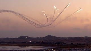 Audience wowed by fireworks and aerobatics at 2018 Alxa Aviation Festival