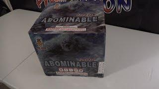 ABOMINABLE - 500G CAKE  - PYRO JUNKIE FIREWORKS
