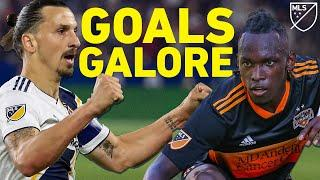 LA Galaxy vs Houston Dynamo Means Fireworks & Goals! | Soccer Highlights