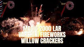 Testing 2000 Magic Lar | Varshini Fireworks | Willow Crackers | Crackers Show Time | CST |