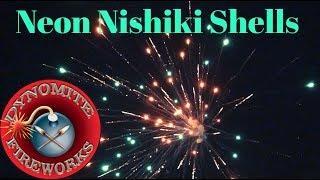 Neon Nishiki Shells (Dynomite Fireworks)