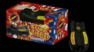 Crime Fighter - Flashing Fireworks