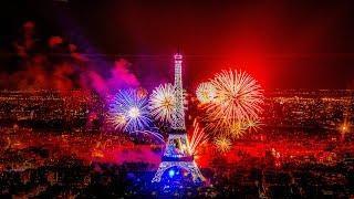 The Bastille Day Fireworks, Around the Eiffel Tower,  Paris