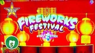 ⭐️ New - Fireworks Festival slot machine, bonus