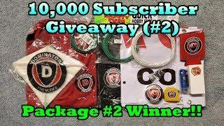 10,000 Subscriber Giveaway (#2) Drawing - Dominator Fireworks Gear Package WINNER!!