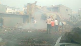 At least 16 killed in explosion at fireworks factory in India