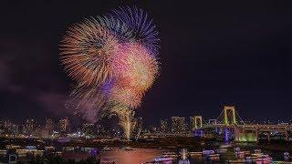 [4K60P] 2018 お台場レインボー花火 Odaiba Rainbbow Fireworks,Tokyo Japan