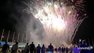 Парад фейерверков!Сочи Олимпийский  парк!Начало 18июня2021!