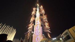Дубай Новый Год 2020 Салют Бурдж Халифа | New year 2020 Dubai Burj Khalifa
