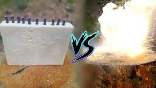 ПЕТАРДЫ vs ПЕНОПЛАСТ |DIY|разорвало на куски!