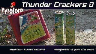 Thunder crackers D - Funke Fireworks (Zena vuurwerk)