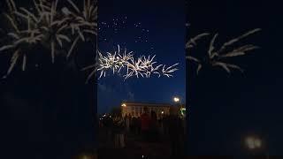 Салют в Гомеле 3 июля на День Независимости площадь Ленина