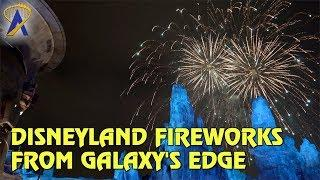 Disneyland Fireworks from Batuu - Star Wars: Galaxy's Edge
