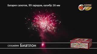 СЛ326099 Биатлон Батарея салютов