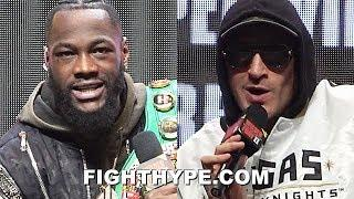 "(FIREWORKS!) DEONTAY WILDER VS. TYSON FURY FULL FINAL PRESS CONFERENCE & ""LIT"" FACE OFF"
