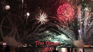 Fireworks UAE 47th National day Celebration at The Beach JBR