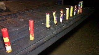 Lighting Single Shot Fireworks with REPORTS!