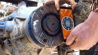 Установка подвесного кардана на маз