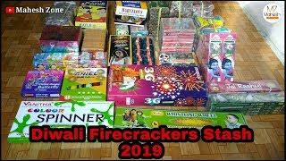 Diwali Fireworks Stash 2019 | Diwali Crackers 2019 | New Diwali Crackers