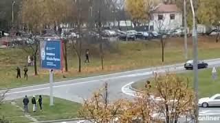 В Минске Омон гонится за протестующим. Митинг Беларусь сегодня