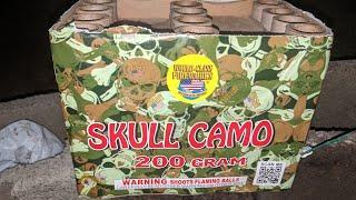 1️⃣2️⃣shot 200gram: SKULL CAMO (World Class Fireworks)