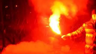Факел пиротехнический красного огня фальшфейер, фаер ФПЧК