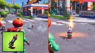 First *NEW* Bottle Rockets Gameplay! Fortnite Battle Royale