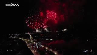 Праздничный салют. 75 лет Победы. 9 мая 2020 года. Курск