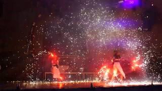Maxim Gorky Park Fire show Kharkov Ivana Kupala 2019/07/06 Иванакупальское
