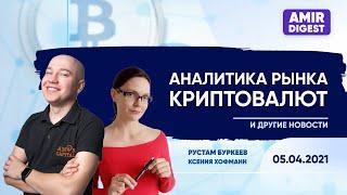 Аналитика рынка криптовалют | Новости 05.04.2021