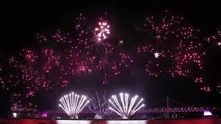 [4K] [#1] 2018 Busan Fireworks Featival Korea Team Hanwha 2018 부산불꽃축제 한화 멀티미디어 2018 釜山花火祭り 韓国