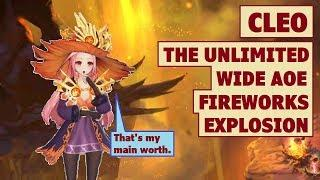 King's Raid - Cleo the Unlimited Fireworks and Explosion