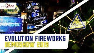 Evolution Fireworks Demo Show 2019