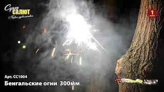 СС1004  Бенгальские огни 300мм (4 шт)