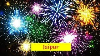 Jaipur: Dravyavati Riverfront Grand Ceremony Celebration Fireworks