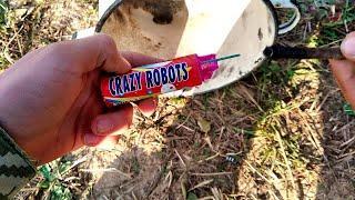 Взрываем петарды под кастрюлей/ Корсар 12 отправил её в космос)/ Тест петард под кастрюлей!