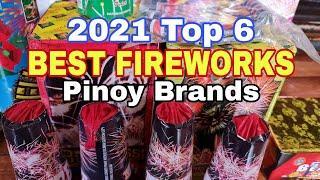 YEAR 2021 TOP 6 BEST PHILIPPINE FIREWORKS BRAND REVIEW (DRAGON, LF, TIGER, PLATINUM, GLK, DIAMOND)