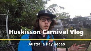 HUSKISSON CARNIVAL AUSTRALIA DAY VLOG (POV on Rides, Fireworks + MORE!)   EPIC VLOG