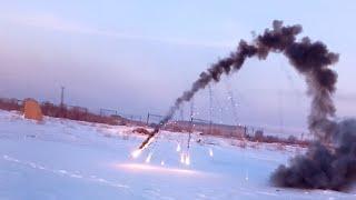Ракета на Политетрафторэтилене