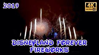 4K Disneyland Forever | Front Row Center View | Disneyland Fireworks 2019