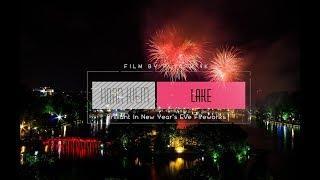 Hoan Kiem Lake - Ha Noi | Brilliant In New Year's Eve Fireworks | Flycam 4K