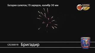 СЛ230019 Бригадир Батарея салютов