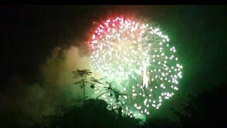 Distant Midnight Fireworks.