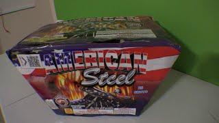 25 SHOT AMERICAN STEEL  - DOMINATOR FIREWORKS