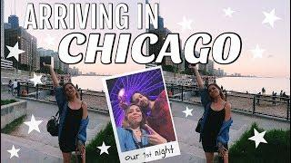 ARRIVING IN CHICAGO WITH MY BOYFRIEND!!! Navy Pier, Magnificent Mile & Fireworks!