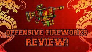 Pixel Gun 3D Offensive Fireworks Review!