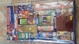 2019 All American assortment UNBOXING* Alamo fireworks
