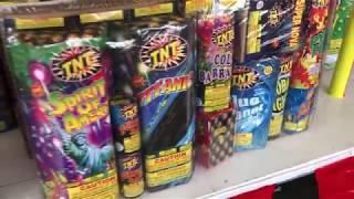 Firework Supercenter in Roseville! Giveaway & Retro Fireworks!