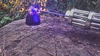 Эксперимент: лазер vs яйцо!!!