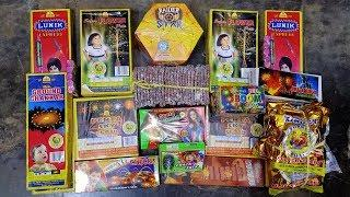Diwali Stash 2019 | Part - 2 | Rs. 3500 Crackers | Testing Diwali Fireworks & Unboxing